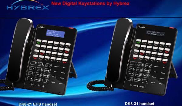 Hybrex DK8 Handsets